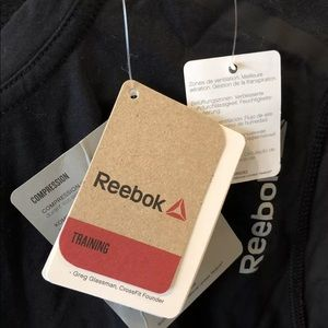Reebok Shirts - NWT Reebok T shirt Running Training Compression